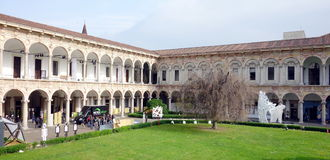 Milan State University stock image