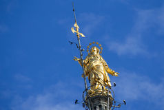 Milan, statue of the dome Royalty Free Stock Photography