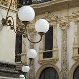 Milan. Street light Stock Photography