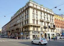 Milan Street View Stock Image