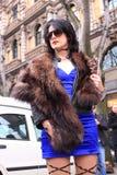 Milan Streetstyle City Fashion Royalty Free Stock Images