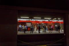 Milan Subway Stock Photography