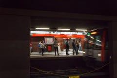 Milan Subway Royalty Free Stock Images