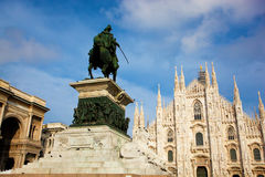 Milan tourist attractions Royalty Free Stock Images