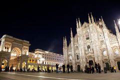 Milan Tourist Attractions Stock Images