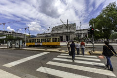 Milan, train central de station photo libre de droits