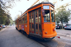 Milan Tram Royalty Free Stock Images