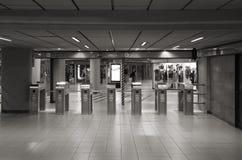 Milan tunnelbanastation Arkivbild