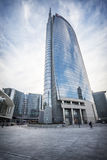Milan Unicredit tower Royalty Free Stock Images