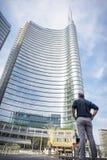 Milan Unicredit tower Royalty Free Stock Photo