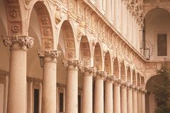 Milan University Royalty Free Stock Photo