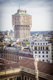 Milan Velasca's tower Royalty Free Stock Image