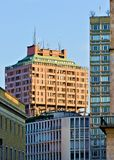 Milan velasca tower Royalty Free Stock Image