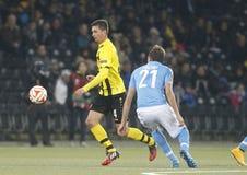 Milan Vilotić Young Boys Berne v FC Naples Liga Europa Stock Photography