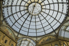 Milan - Vittorio Emanuele Gallery Stock Photos