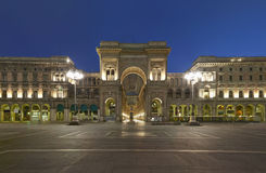 Milan, Vittorio Emanuele gallery, Italy Royalty Free Stock Images