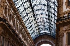 Milan vittorio emanuele gallery. View Stock Photo
