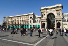 Milan, Vittorio Emanuele II gallery Royalty Free Stock Photo