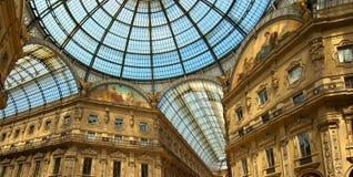 Milan - Vittorio Emanuele II gallery - Italy Stock Images