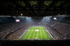 MILAN VS INTER Royalty Free Stock Photo