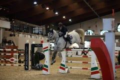 Milan Winter Show vermezzo Jumping Royalty Free Stock Photography