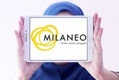 Milaneo购物中心商标 库存照片