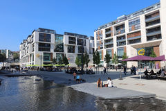 Milaneo Shopping Mall. Stuttgart Royalty Free Stock Image