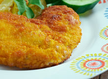 Milanesa de Pollo Stock Photography