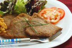 Milanese steak Royalty Free Stock Photography