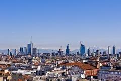 Milano 2012: nuovo orizzonte Fotografia Stock