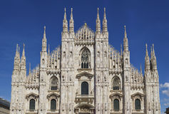Milano cathedral Stock Images