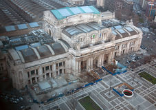 Milano Centrale järnvägstation Arkivbild