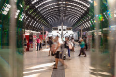Milano centrale (Milan Train station center) Stock Images