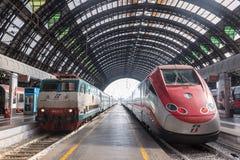 Milano centrale (Milan Train station center) Stock Image