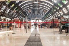 Milano centrale (Milan Train station center) Royalty Free Stock Photo