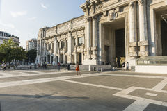 Milano Centrale railway station royalty free stock images