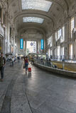 Milano Centrale railway station. Milano Centrale is the main railway station of the Italian city of Milan and one of the main European railway stations. The Stock Photography