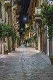 Milano centrum miasta ulicy widok Fotografia Stock