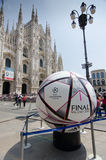 Milano Champions League final 2016 Royalty Free Stock Images