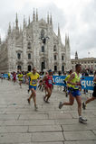 Milano City Marathon 2010 Royalty Free Stock Photography