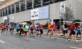Milano City Marathon Stock Images