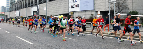 Milano City Marathon Royalty Free Stock Photography