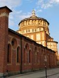 Milano da kościelny vinci Zdjęcia Royalty Free