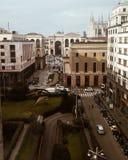 Milano de la tapa Foto de archivo libre de regalías
