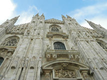 Milano Dome ( Duomo ) , amazing architecture. Stock Image