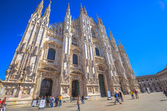 The Milano Dome Royalty Free Stock Images