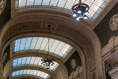 Milano drevstation Arkivfoton
