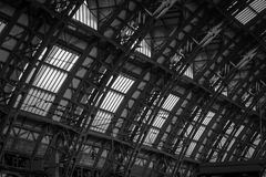 Milano drevstation Royaltyfri Foto