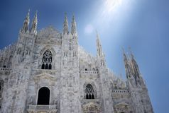 Milano Duomo Royalty Free Stock Photos