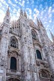 Milano duomo Stock Image